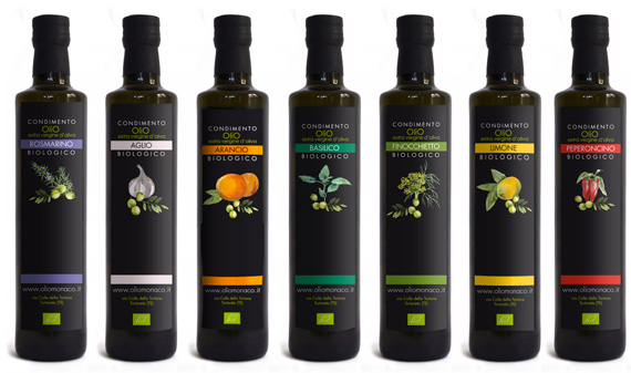 Packaging Olio Monaco